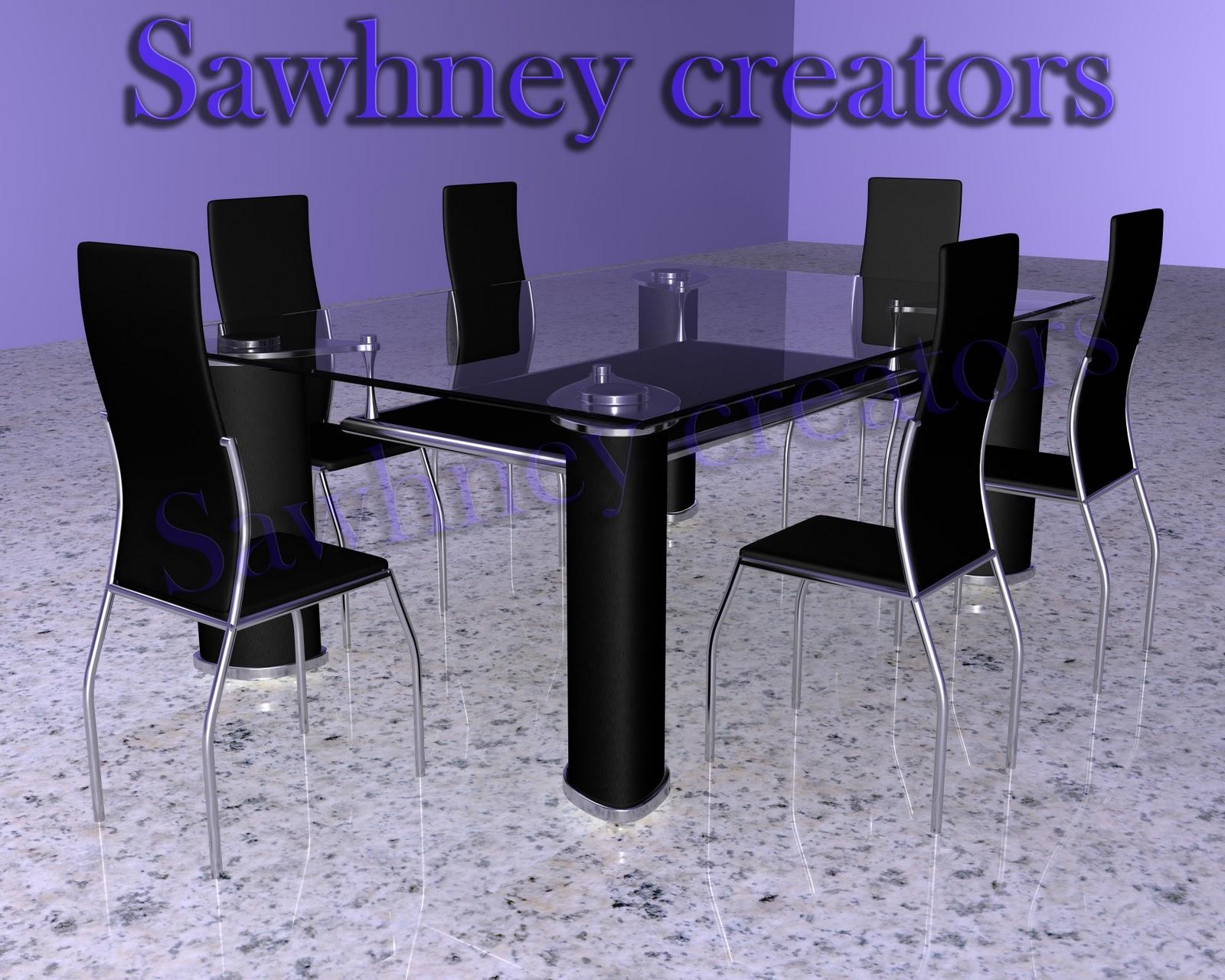 3d models for Table design 3d model