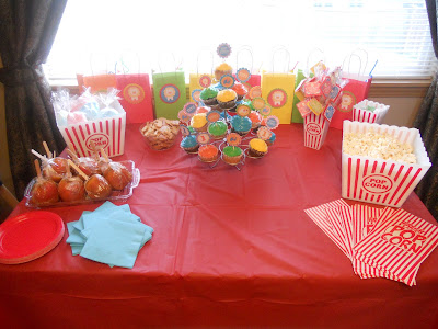 {focus_keyword} Weston's Circus 1st Birthday Party 021