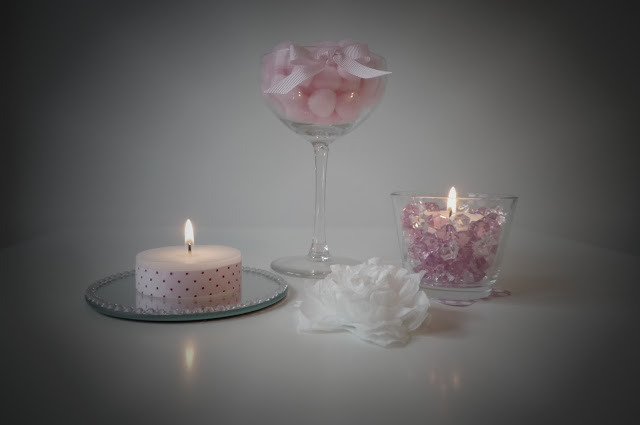 Soft romantic candle light from BistrotChic