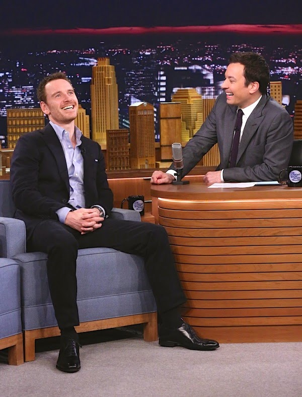 Michael Fassbender in Thom Sweeney - Tonight Show Starring Jimmy Fallon