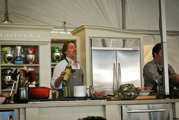 Chef John Besh  at Music City Eats Food Festival in Nashville Tennessee