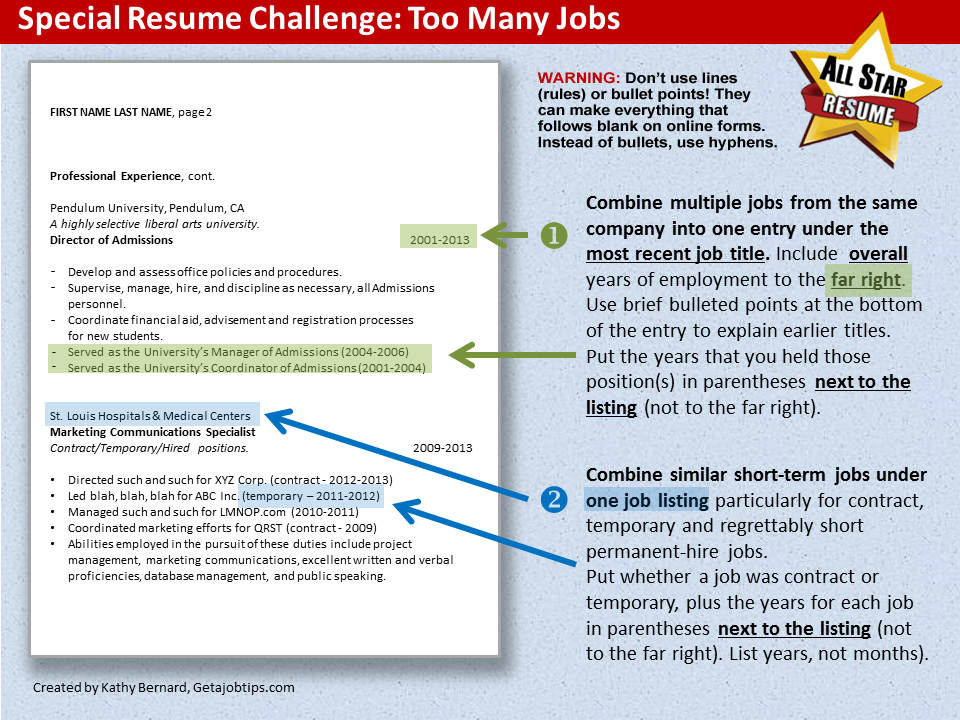 high school resume sample business insider - Resume Sample Too Many Jobs