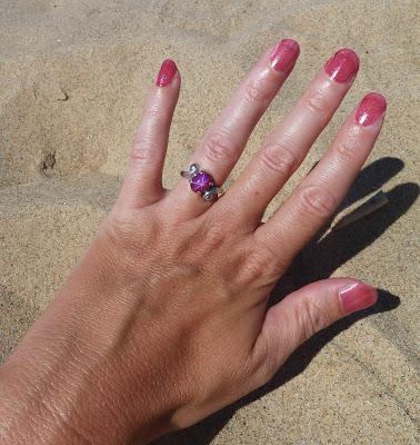 Del Sol Nail Polish Hot Pink