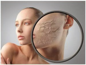 Mencerahkan wajah untuk kulit kering