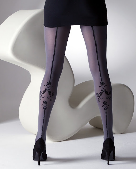 grey tights, grey pantyhose