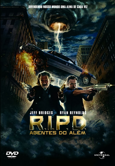 Filme R.I.P.D. Agentes do Além Dublado AVI BDRip
