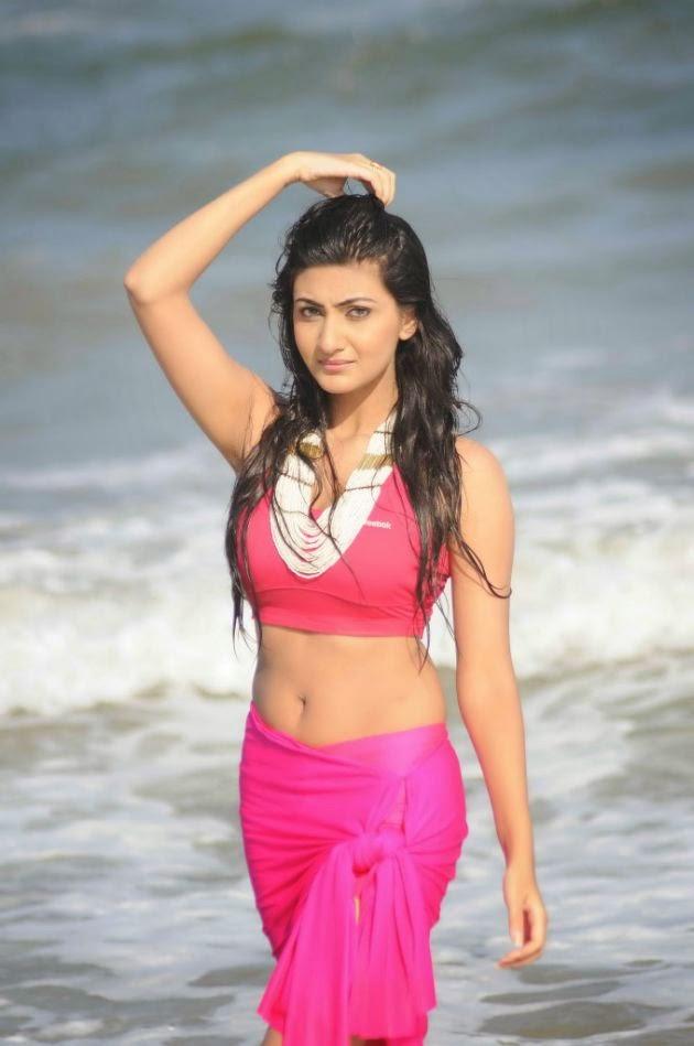Actress Neelam Upadhyay Latest Navel Show photos