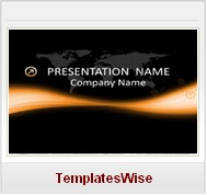 abstract theme noir Free PPT Templates