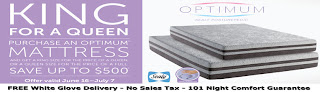 Bed Planet Sealy Optimum Mattress 4th of July Sale King