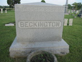 Beckington Headstone