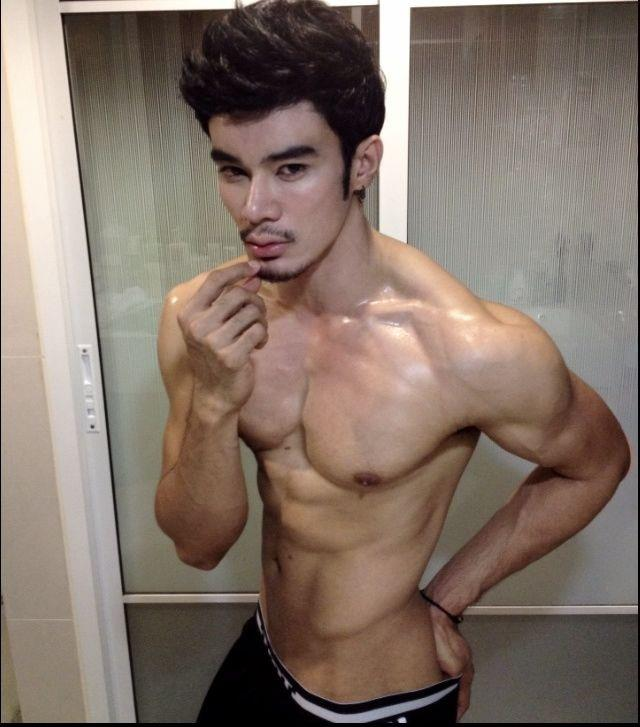 Thai hot male model