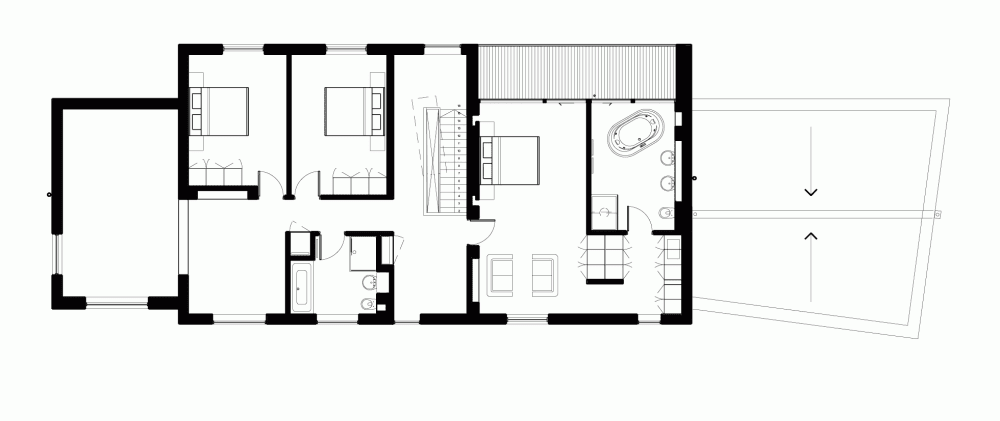 Arquitek un blog de arquitectura casa meadowview for Arquitectura 5 de mayo plan de estudios