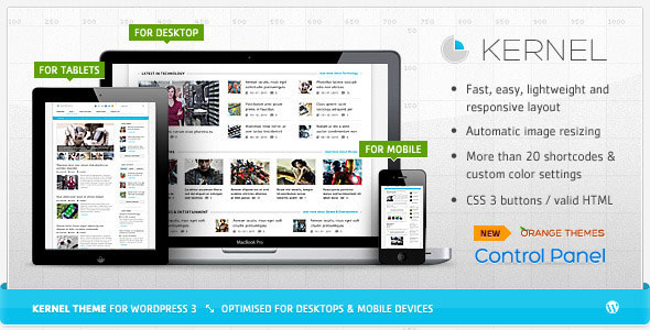 Image for Kernel – Blog & Magazine Theme by ThemeForest