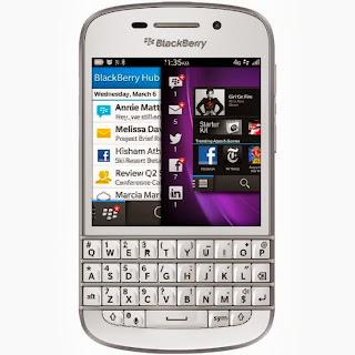 harga terbaru dan spesifikasi dari Blackberry Q10
