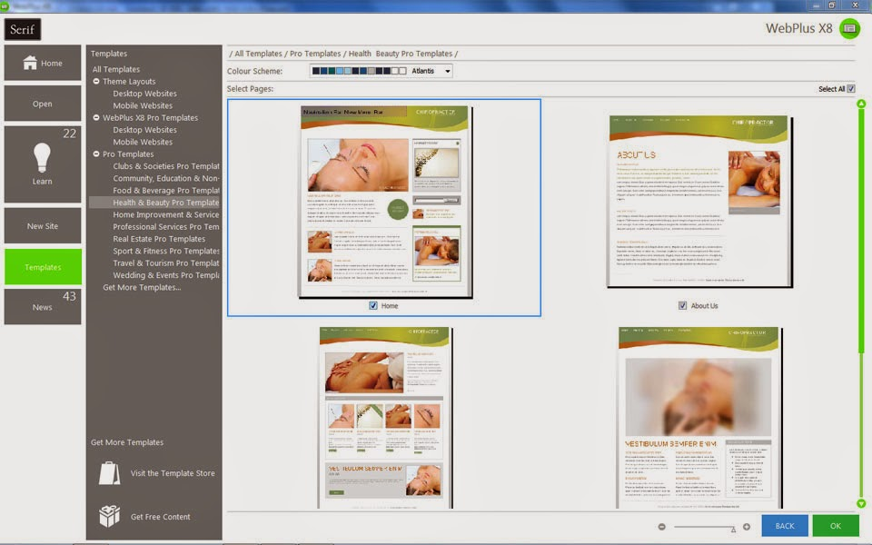 serif pageplus x9 templates