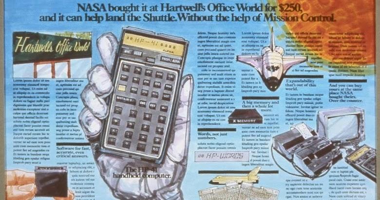 calculadoras programables hp 41 c    cv    cx  la hp 41c