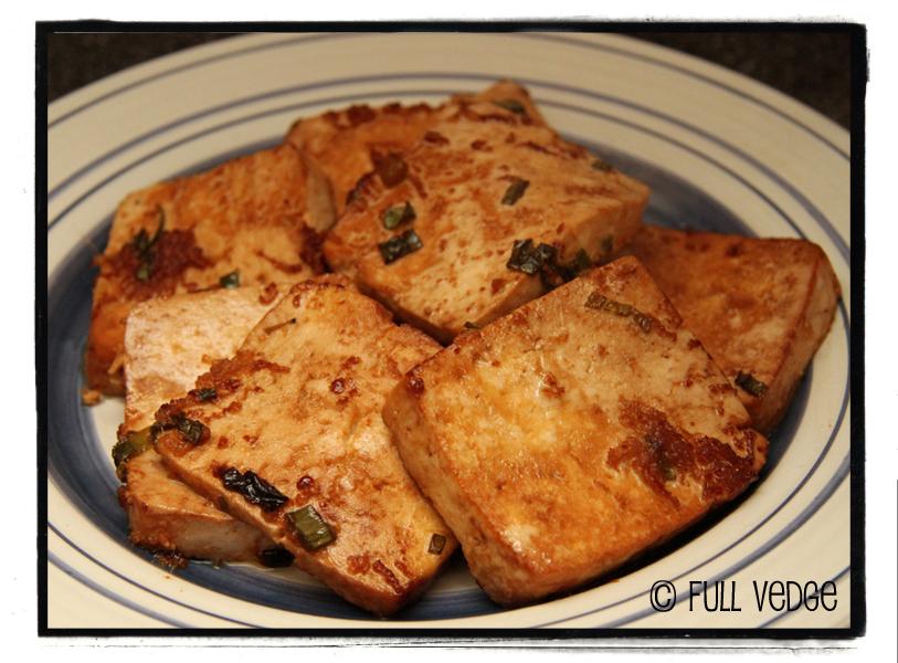 recette tofu gingembre