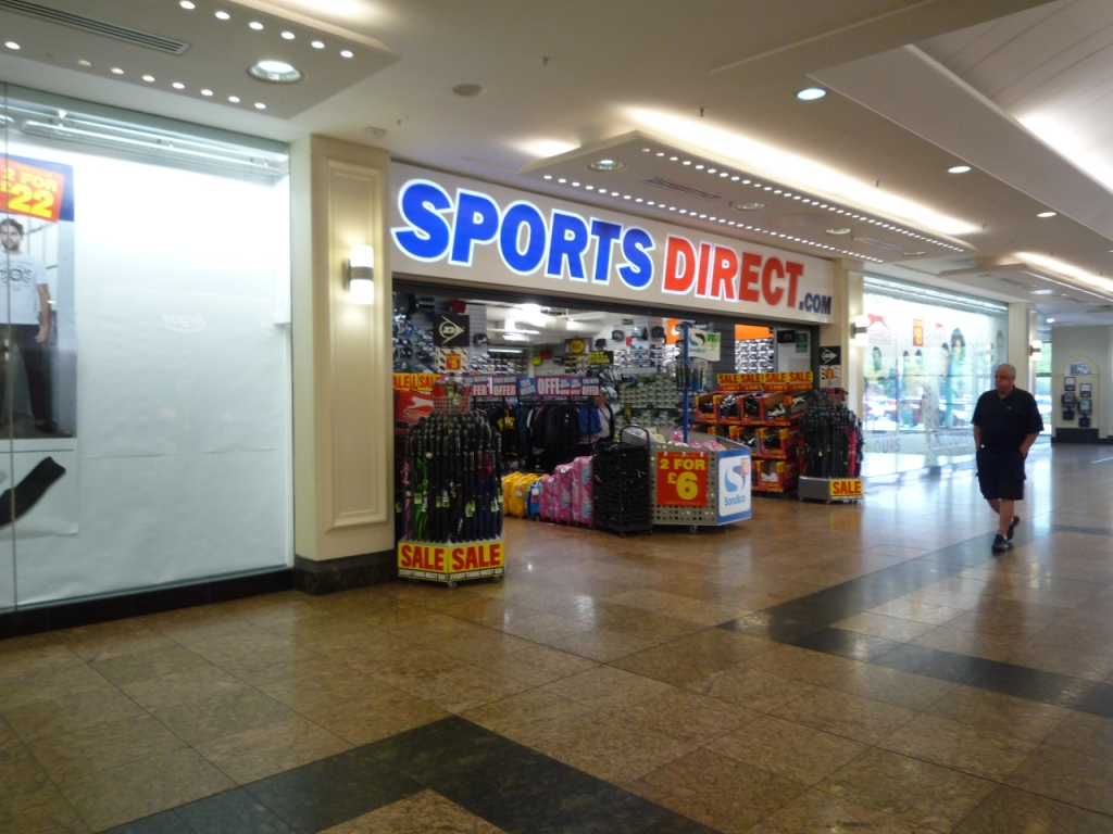 Sports Direct Yorkshire, offering the biggest brands of sportswear, footwear, trainers and sports equipment at low prices. Sports shops at Meadowhall, Sheffield.
