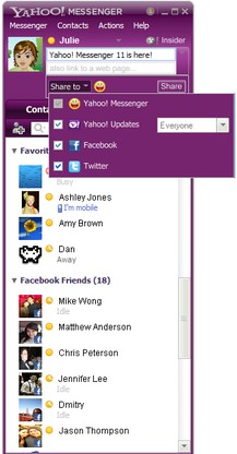 Yahoo Messenger 11 Final Version