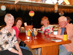 3 of the Aberdeen SD Class of '58, (Anita, Marilyn & Linda) and Fred. Dinner at Burdine's