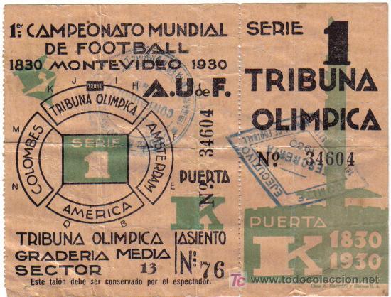 1930 - MONTEVIDEO - URUGUAY