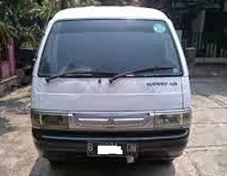 Ikln baris mobil, Dijual - Suzuki carry futura 1990 Putih