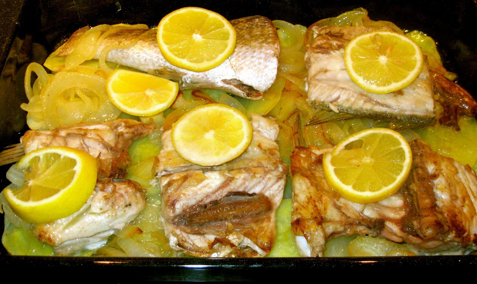 La cocina en el sur corvina al horno for Hornear a blanco