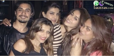 Ali Zafar Partying With Bollywood Stars
