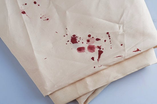 how to get rid of fresh blood stains