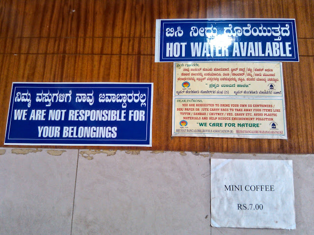 Hot water available