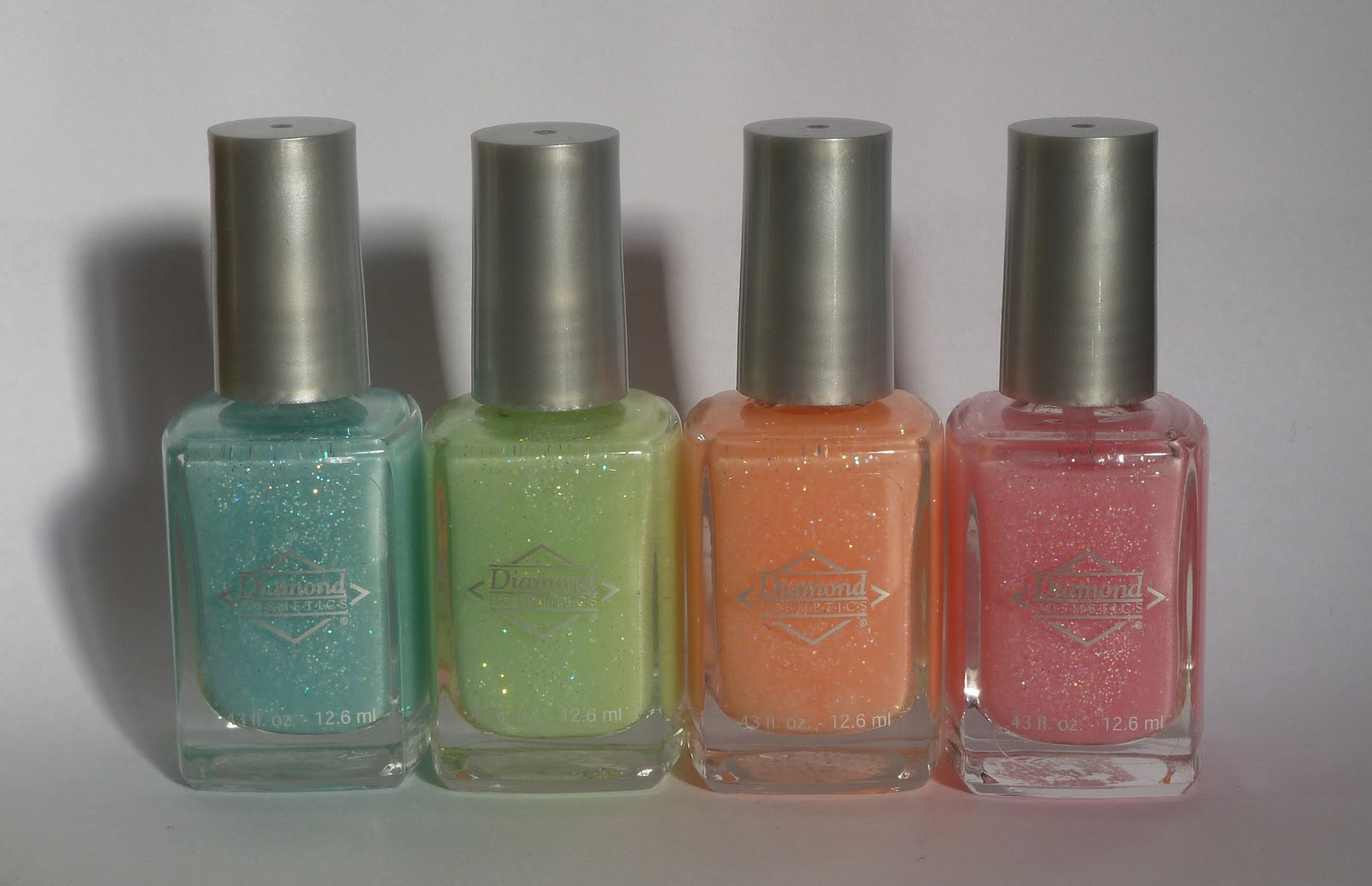 NailsByStephanie: Diamond Cosmetics Glow In The Dark Collection
