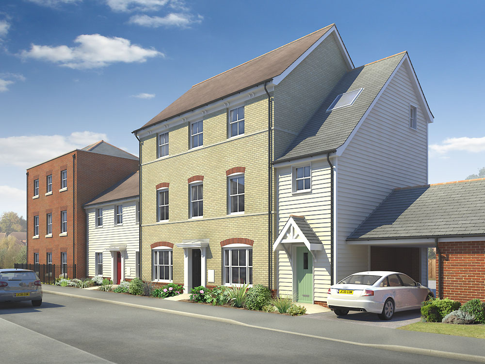 New homes in picturesque rayne beresfords for Braintree freeport swimming pool