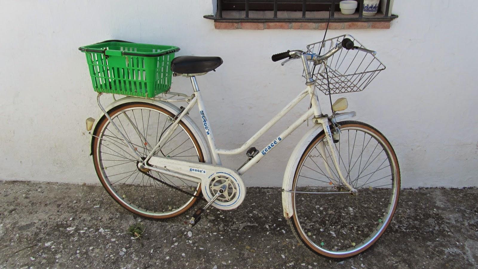 Restaurando una bicicleta G.A.C  de paseo