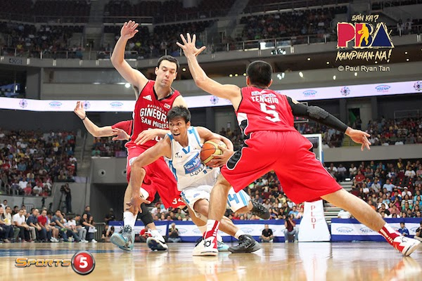 Mark Barroca of San Mig Super Coffee has been on a tear since the start of the new year.