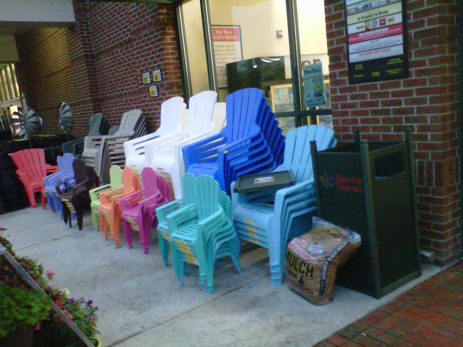 Thrifty Finds And Redesigns Adirondack Patio Chairs