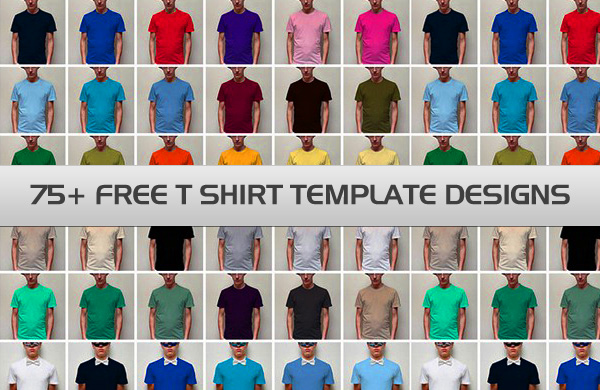 Free T Shirt Template Designs