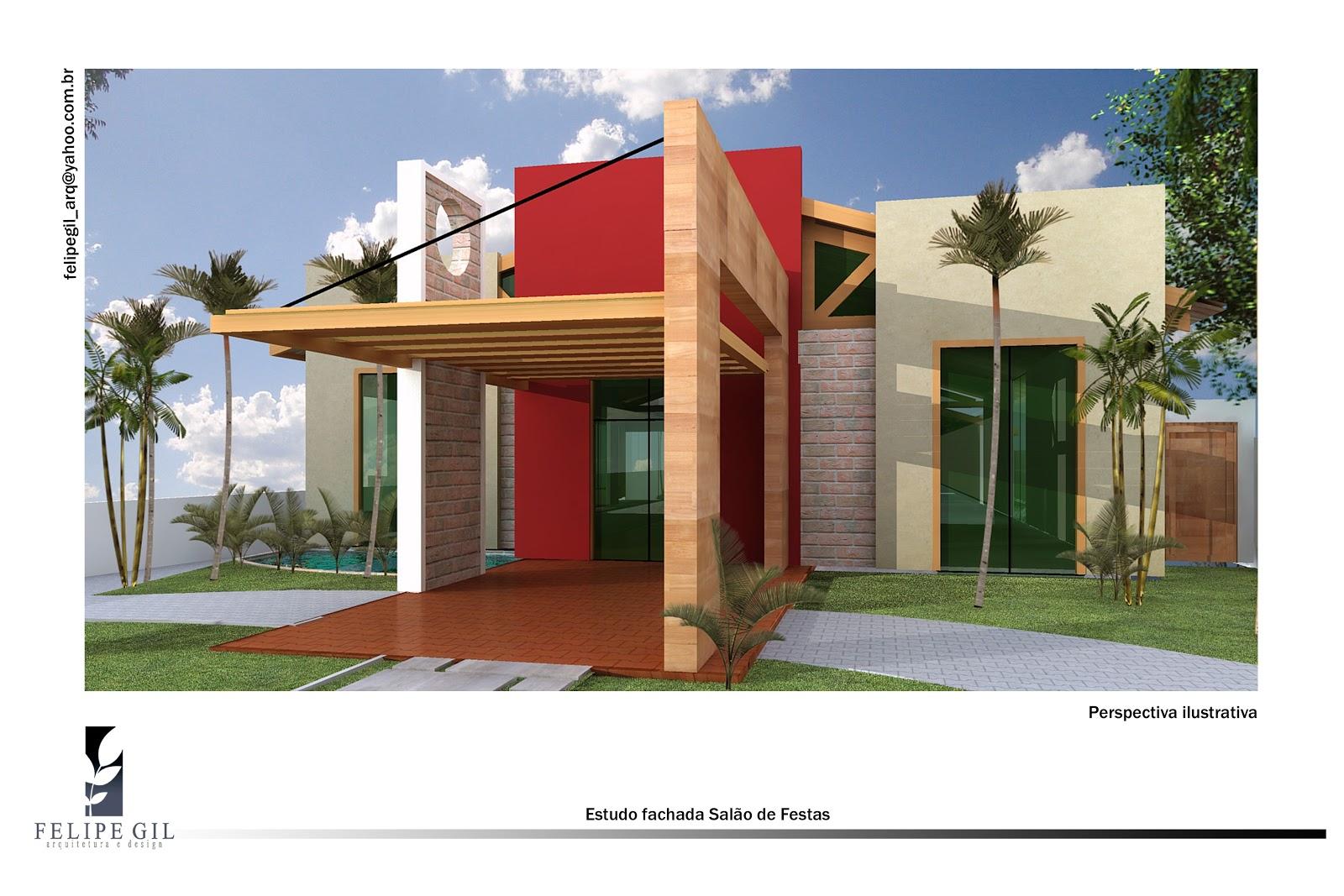 CasaEco Arquitetura e Design: Projeto Salão de Festas #A4272A 1600 1067