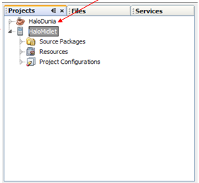 Cara membuat Hello MIDlet (J2ME)