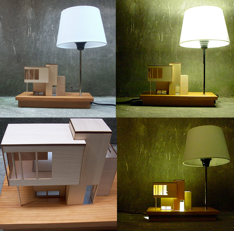 The Modern Style House Lamp: