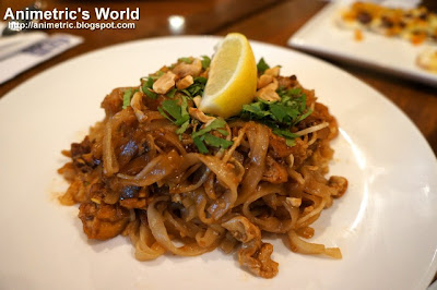 Pad Thai Noodles at East Cafe