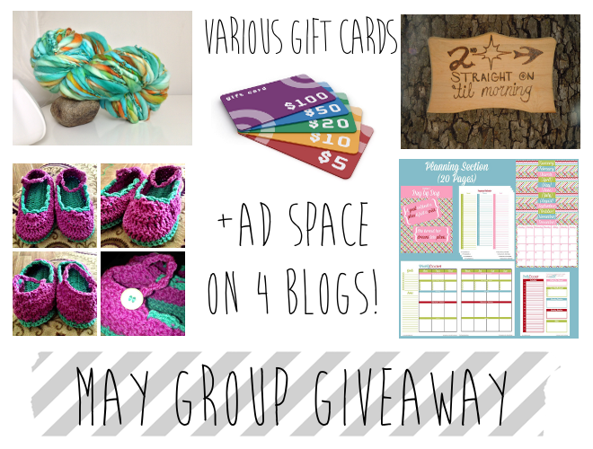 May Group Giveaway