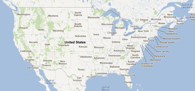 Cincinnati On Us Map - Ohio location on us map