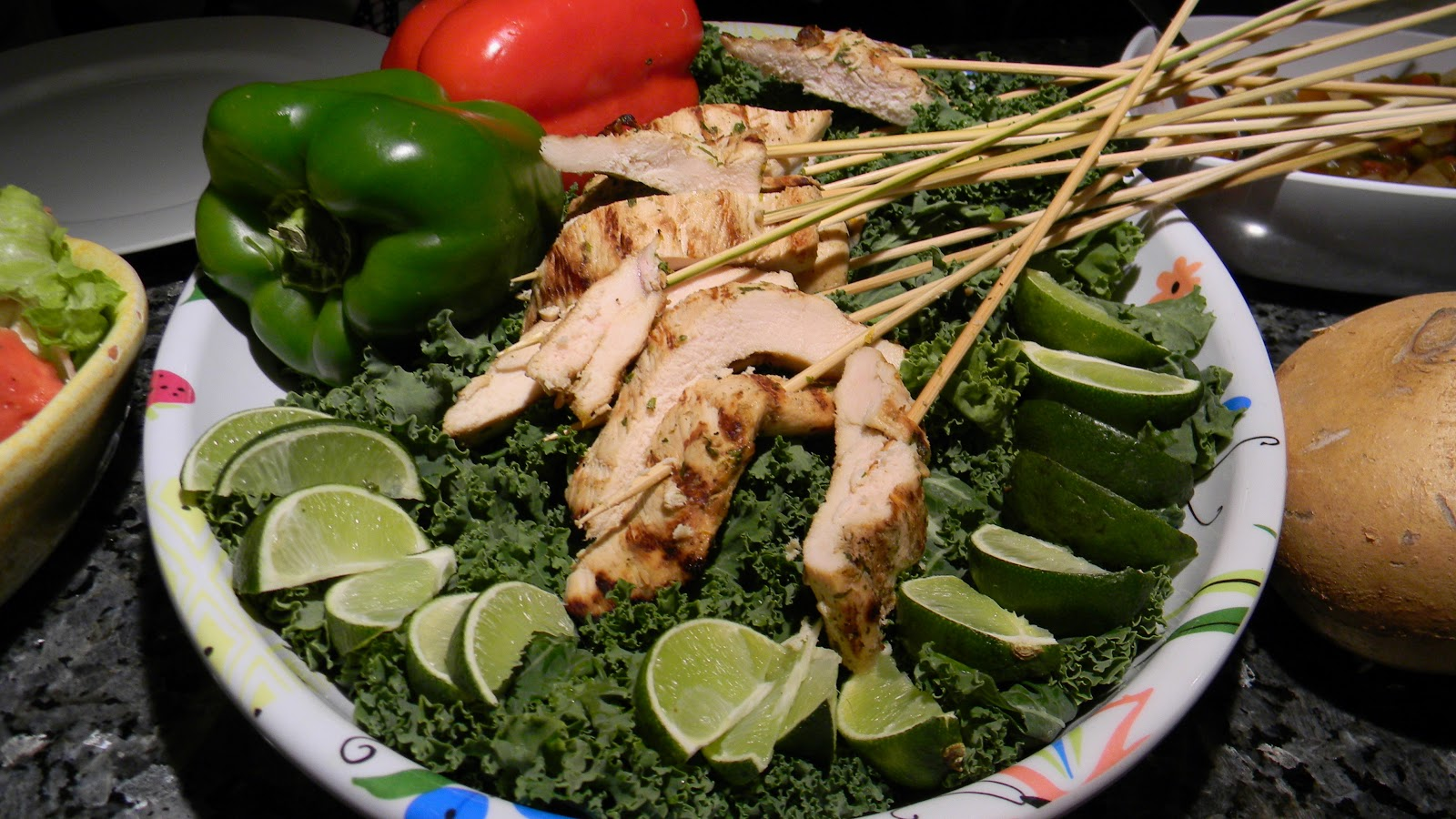 Margarita chicken mexican inspired dinner party part 3 remember to discard any marinade thats had raw food in it and boil the reserved batch to cook and reduce it down cook taming the raw garlic and forumfinder Gallery