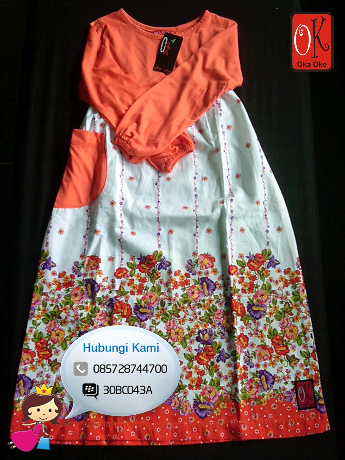 Gamis Anak Oka Oke Model Terbaru Baju Gamis Anak Oka Oke