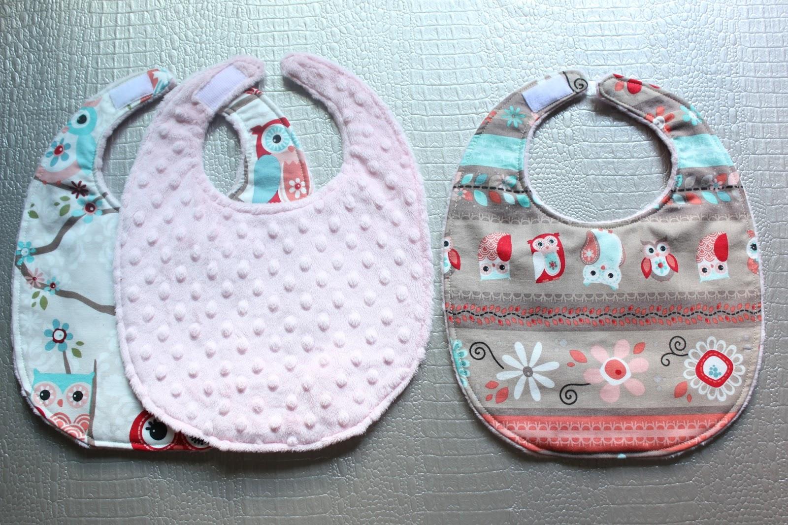 Diy c mo hacer baberos con tela minky sara 39 s code blog - Como hacer un cambiador para bebes ...