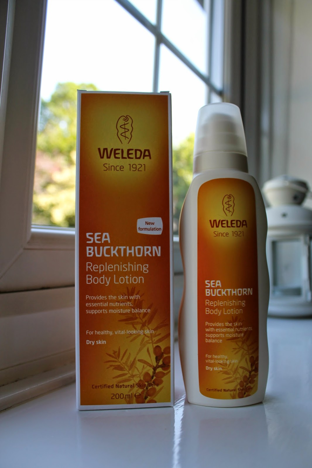 Love Me Beauty Box July 2014 Weleda Sea Buckthorn Body Lotion