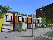 Today the gift is the small version for the 'Mondrian Row Houses' !