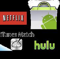 Google Play,Netflix, Hulu, iTunes Match a través de uma VPN