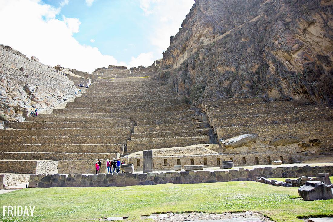 Incan city Peru