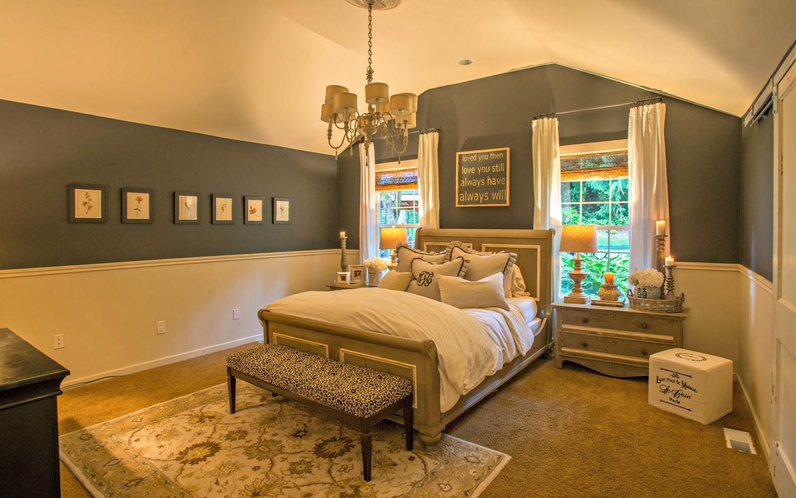 my sweet savannah master bedroom details